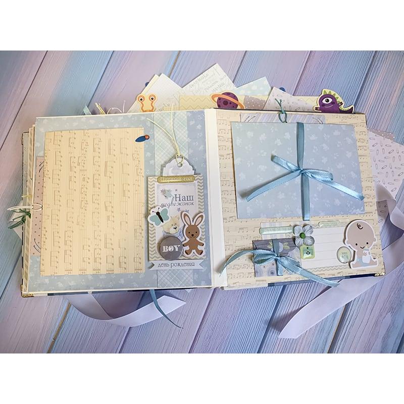 Альбом для новонародженого скрапбукінг Зоряний Принц