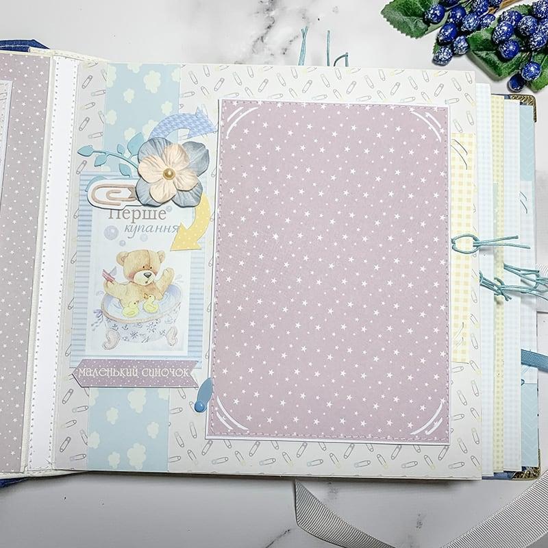 Скрапбукінг альбом для новонародженого Little Prince