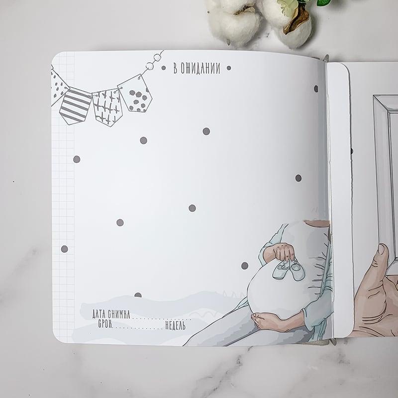 Скрапбукінг альбом для хлопчика Teddy Веаг