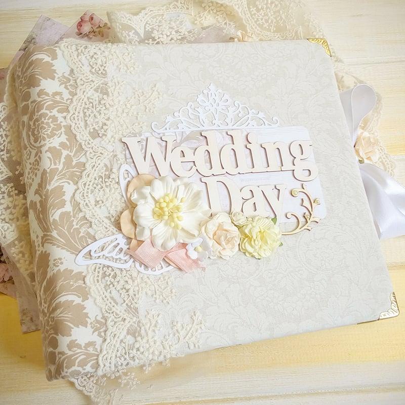 Весільний скрапбукінг альбом Wedding Day Arabesque