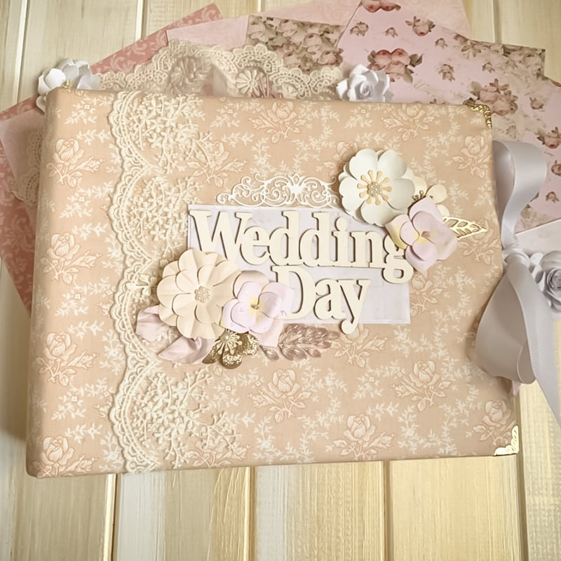 Свадебный скрапбукинг альбом Wedding Day Symphony