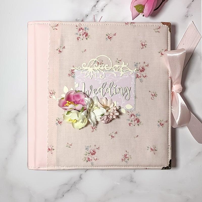 Весільний скрапбукінг альбом Wedding Day