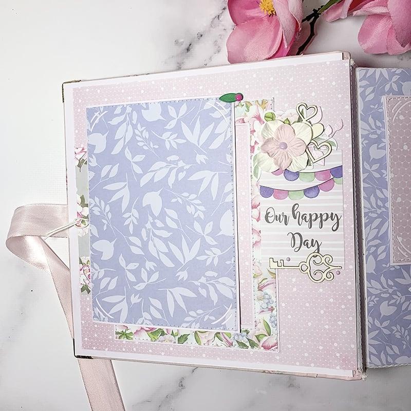 Свадебный скрапбукинг альбом Wedding Day