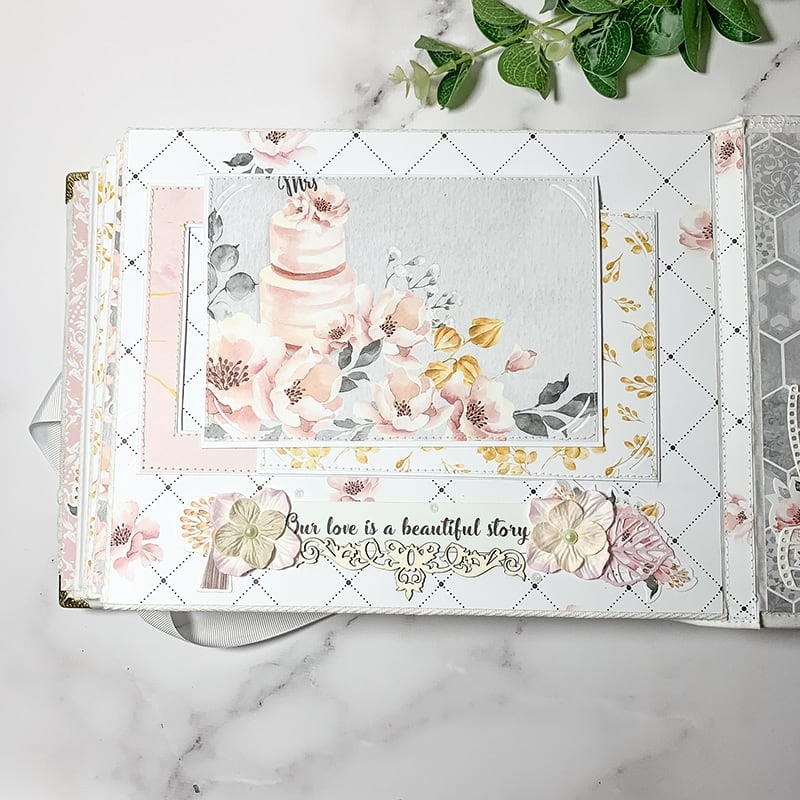 Весільний скрапбукінг альбом My Family