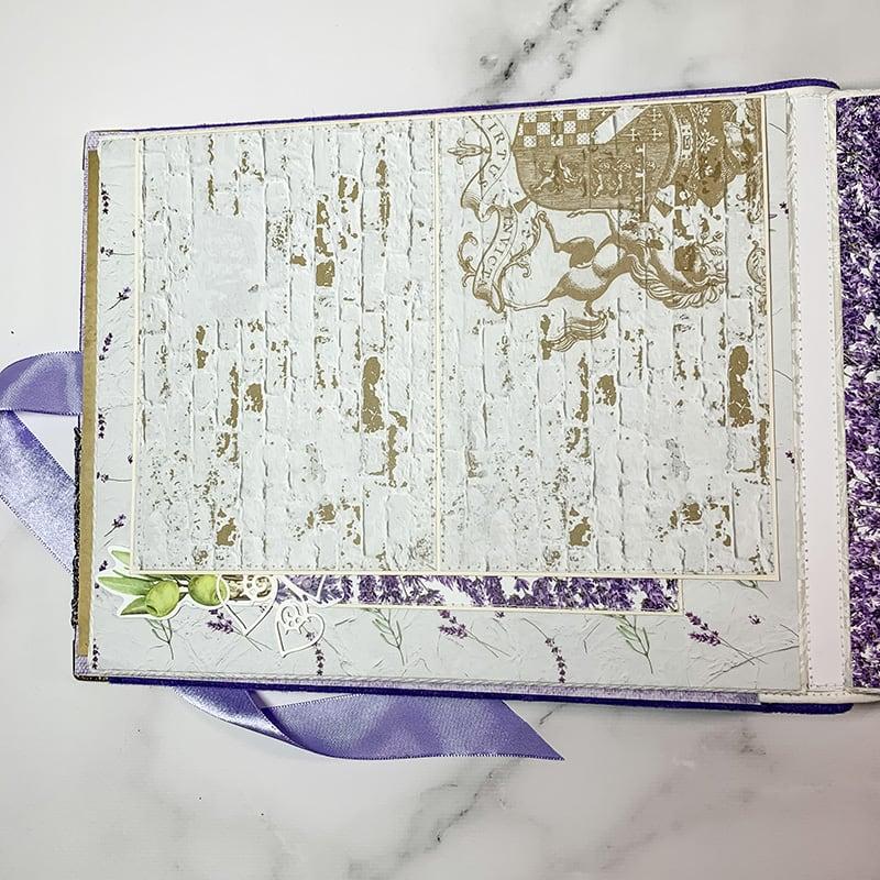 Скрапбукинг альбом Personal
