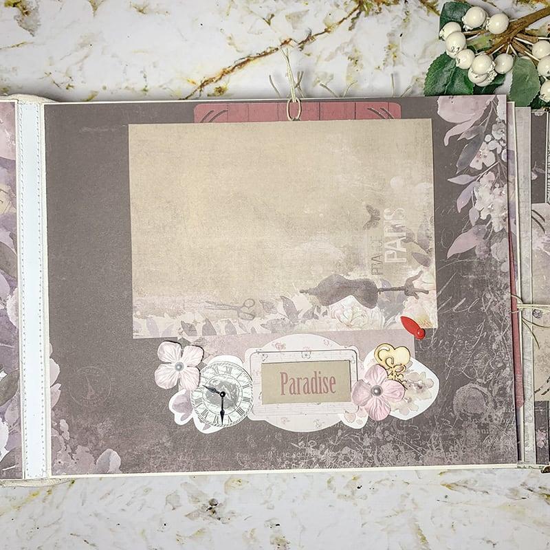 Свадебный скрапбукинг альбом Love Story